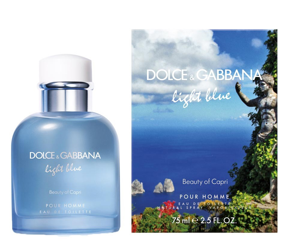 Dolce&Gabbana Light Blue Beauty Of Capri 125ml edt