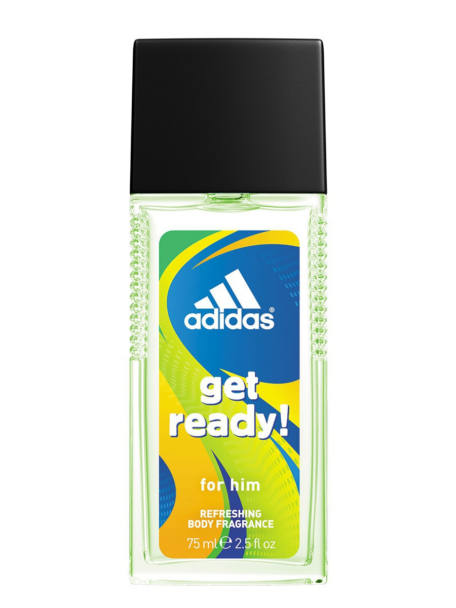 Adidas Get Ready (M) 75ml edp (освежающая)