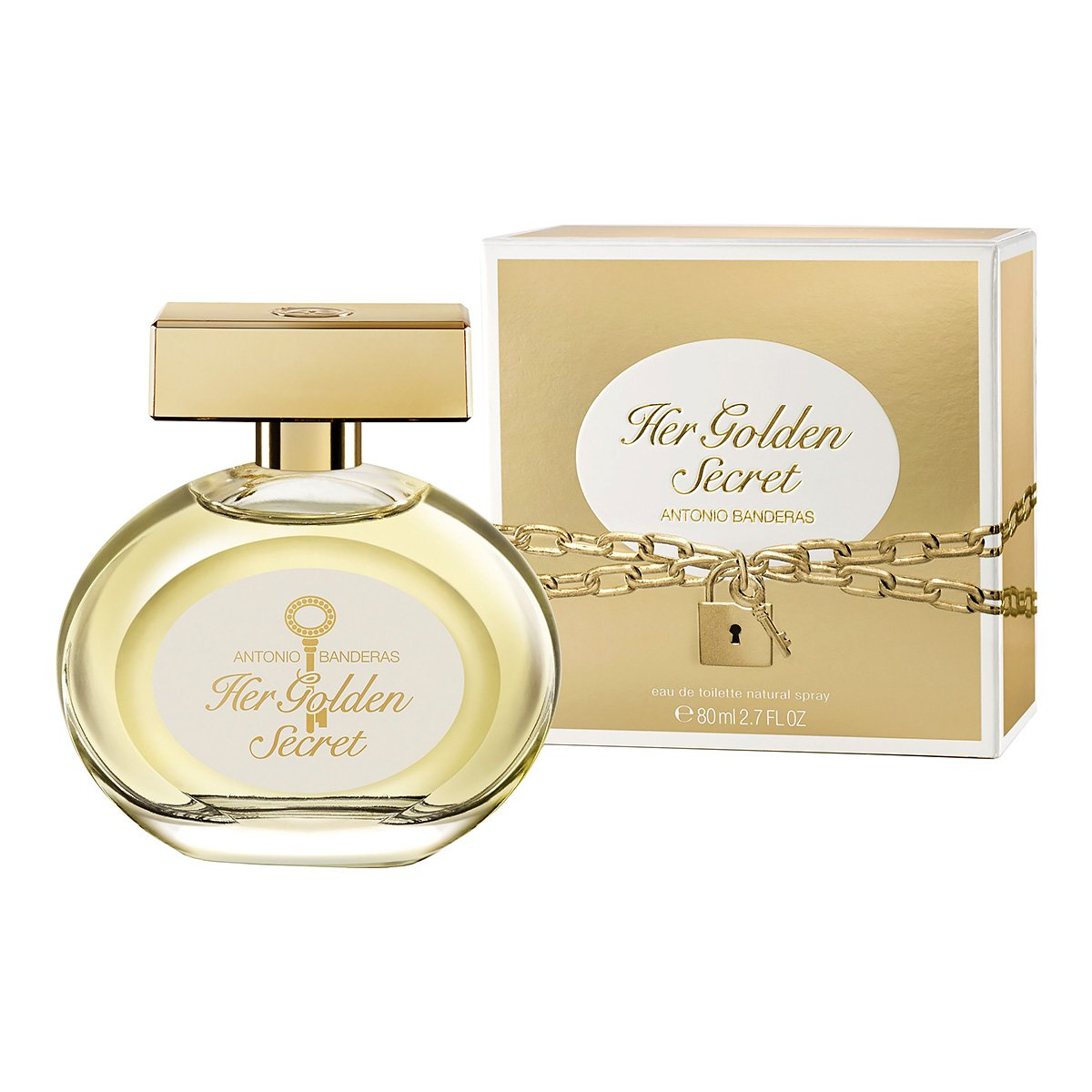 Antonio Banderas Her Golden Secret test edt