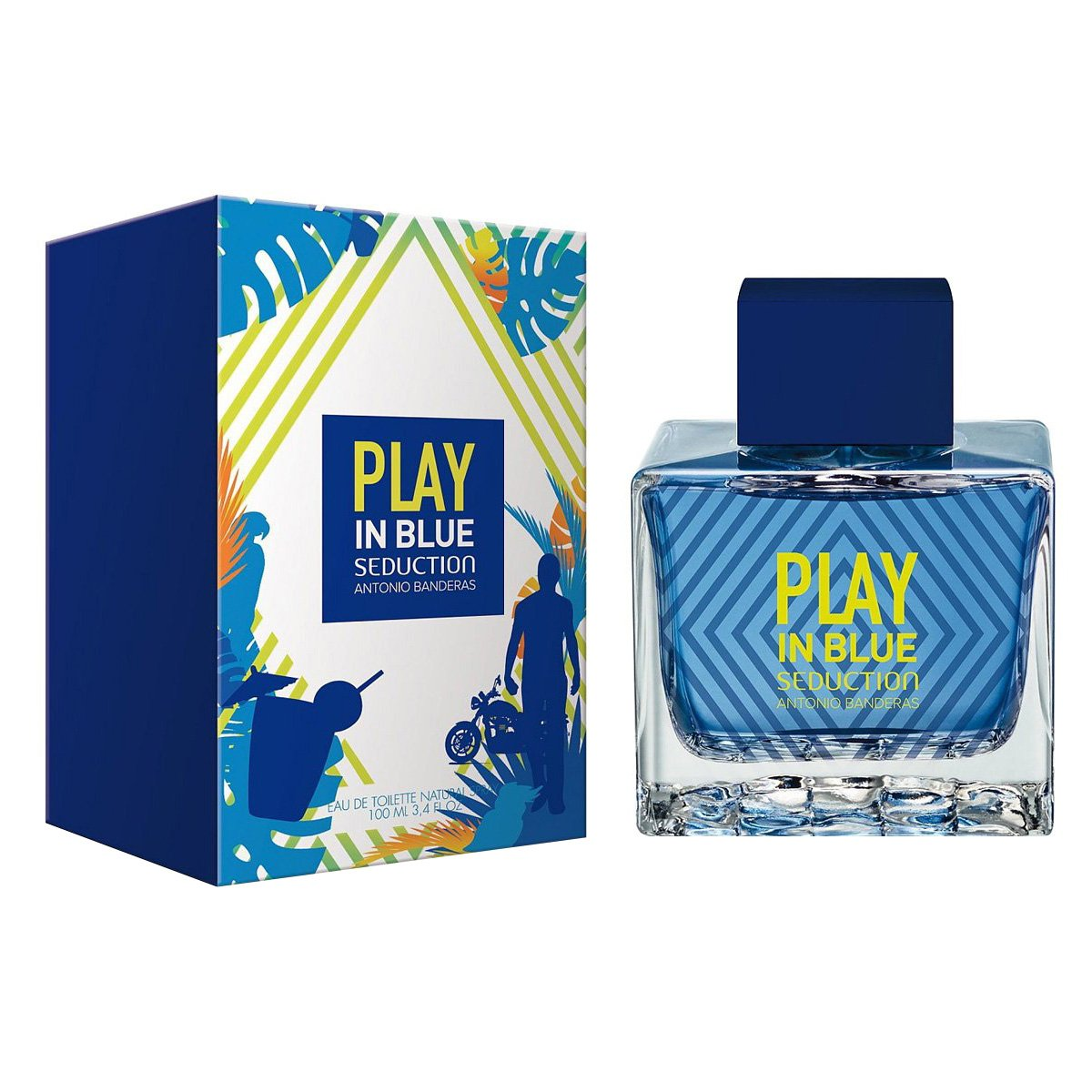 Antonio Banderas Play In Blue Seduction For Men edt