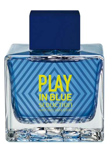 Antonio Banderas Play In Blue Seduction For Men test edt