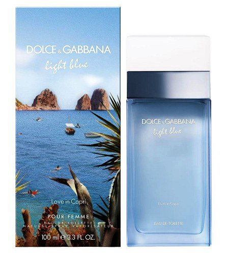 Dolce&Gabbana Light Blue Love In Capri 100ml edt